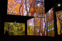 Ван Гог живой Стоковые Фотографии RF