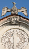 Варезе Италия: Palazzo Estense, хозяйничая ратуша Стоковое Изображение