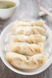 Вареники азиатской китайской еды свежие Стоковые Изображения RF