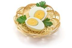 Вареные яйца стоковое изображение