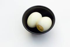 Вареные яйца Стоковые Фотографии RF