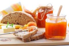 Варенье абрикоса Стоковое фото RF