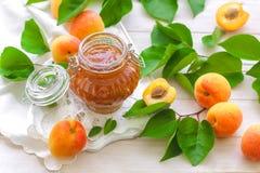 Варенье абрикоса Стоковые Изображения RF