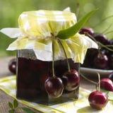 Варенье вишни Стоковые Изображения