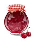 Варенье вишни Стоковое Изображение