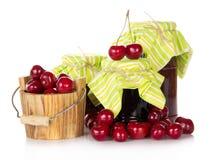 Варенье и вишни Стоковые Фотографии RF