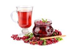 Варенье и чай стоковые фото