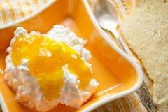 варенье коттеджа сыра Стоковое Фото