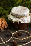 Варенье от конусов сосны Стоковое Изображение RF