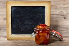 Варенье персика Стоковое Фото