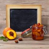 Варенье персика Стоковые Изображения