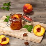 Варенье персика Стоковое Изображение