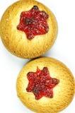 варенье печений вишни Стоковая Фотография