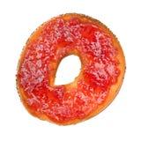 варенье плодоовощ bagel вкусное Стоковая Фотография RF