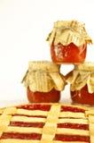 варенье торта яблока Стоковые Фотографии RF