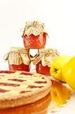 варенье торта яблока Стоковое Фото