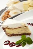 варенье торта Стоковое Фото