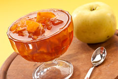 варенье яблока Стоковое Фото