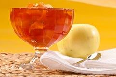 варенье яблока Стоковые Изображения