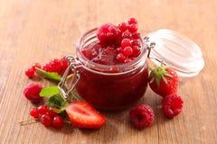 Варенье ягод стоковое фото