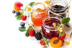 Варенье ягоды Стоковое Фото