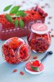 Варенье ягоды Goji Стоковые Фотографии RF