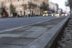 вариант города цифрово произвел золотистую высокую дорогу res изображения стоковое фото rf