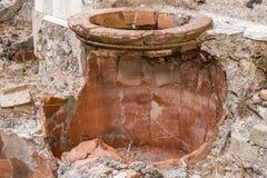 варить баки herculaneum стоковое изображение