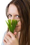 варить женщину еды здоровую Стоковые Фотографии RF