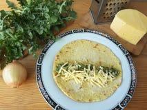 Варить крены сыра одуванчика Стоковая Фотография RF