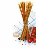 варить макаронные изделия итальянки ингридиентов Стоковые Изображения RF