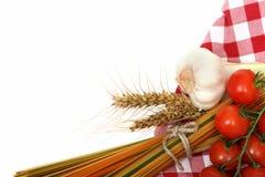 варить макаронные изделия итальянки ингридиентов Стоковые Фото