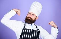 Варить моя сила Мои секретные подсказки кулинарные Варить легкое и приятное занятие Стали шеф-повар на ресторане стоковая фотография