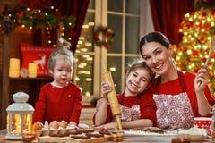 Варить печенья рождества Стоковые Фотографии RF