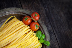 Свежие макаронные изделия Стоковая Фотография