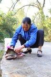 варить рыб Стоковая Фотография RF