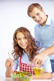 Варить салат Стоковое Изображение