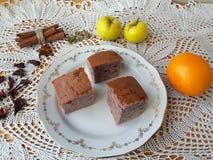 Варить тортов красного цвета гибискуса стоковые фото
