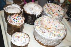 Варить торт пасхи украшения традиционный Стоковые Изображения RF