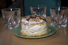 Варить торт пасхи украшения традиционный Стоковое фото RF