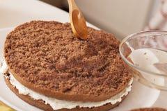 Варить торт Стоковое Изображение RF