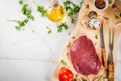Варить филе говядины Стоковая Фотография RF