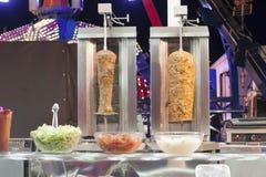 Варить kebab стоковая фотография