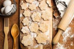 Варить scones Стоковая Фотография RF