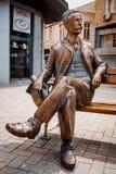 Варна, Болгария, 6-ое апреля 2016: Памятник архитектора Dabko Стоковые Фотографии RF