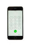 Варна, Болгария - 31-ое октября 2015: Сотовый телефон модельное Iphone 6s Стоковые Фотографии RF