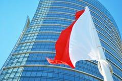 Варшава Польша, 12-ое мая 2016 Шпиль Варшавы Стоковое Фото