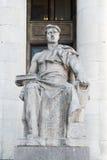 Варшава, скульптура Стоковые Изображения