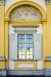 ВАРШАВА, POLAND/EUROPE - 17-ОЕ СЕНТЯБРЯ: Дворец Wilanow в Варшаве Стоковая Фотография RF
