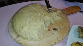 варящ ингридиенты еды итальянские стоковое фото